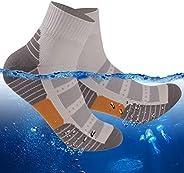 RANDY SUN 100% Waterproof Socks, Unisex Hiking Wading Trail Running Kayaking Crew Socks