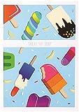 UWP Luxe 26UWP luxe-26Grußkarte, multicolor