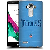 Official NFL Distressed Tennessee Titans Logo Soft Gel Case for LG G4 / H815 / H810