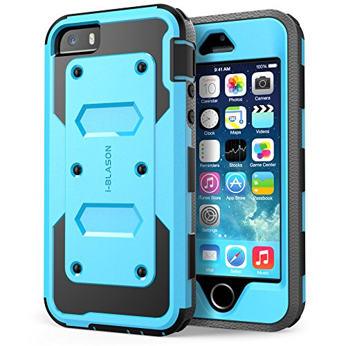 Apple-iPhone-SE-5S-5-Cover-Protezione-Slim-i-Blason-Armorbox-Custodia-protettiva-di-tutto-il-corpo-con-la-copertura-anteriore-e-protezione-integrata-dello-schermo-resistente-agli-impatti-Paraurti
