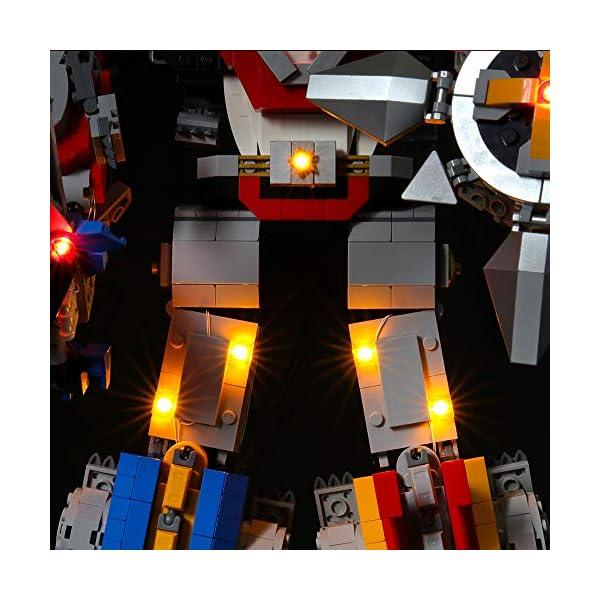 LIGHTAILING Set di Luci per (Ideas Voltron) Modello da Costruire - Kit Luce LED Compatibile con Lego 21311 (Non Incluso… 4 spesavip