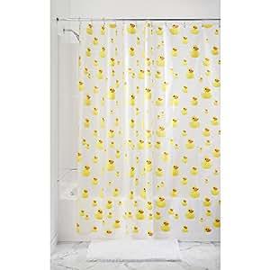 Interdesign novelty eva peva tende per doccia in tessuto - Tende per doccia in tessuto ...
