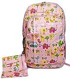 GFM Fashion 183 Rucksack Cartoon-Design DIN A4-Fächer Reißverschlusstaschen für Schule Freizeit vielseitig verwendbar