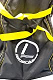 Longridge Deluxe Pull Trolley Cover Bag - Black/Yellow