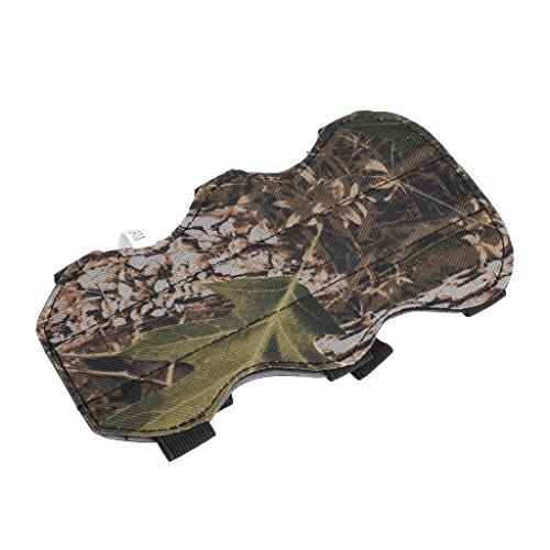 CUTICATE 19cm Tarnung Sicheres Bogenschießen 3 Bügel Armschutz Für Das Im Freienjagd Schießen