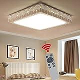 YESDA 36W Dimmbar LED Deckenleuchte Badleuchte Deckenlampe Flurleuchte Mit Fernbedienung (36W Dimmbar)