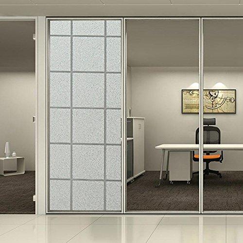 hoho-2d-non-adesivo-finestre-privacy-pellicola-statica-decor-vetro-opaco-plaid-diy-092mx5m