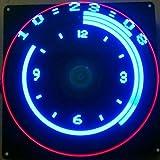 DIY-elektronische kit Flat POV 64 LED Roterende Reclame Licht DIY LED Flash Kit Elektronische Creatieve LED-productie 1 stks (Color : Blue)