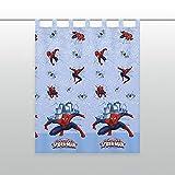 KK Spiderman Gardine Vorhang Fertiggardine 140 x 175 cm