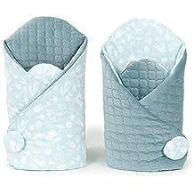 SZO Arrullo Bebé | Mantita Envolvente | Saco de dormir Bebé | Reversible | Terciopelo acolchado