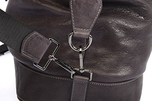 DeCaso  Holdall/Travel Bag, Herren Henkeltasche Anthrazit