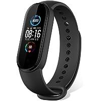 """Mi Band 5 Fitness Tracker Armband [Version 2020] 1.1"""" Bildschirm Sport Smartwatch 5ATM Schrittzähler Uhr für Damen…"""
