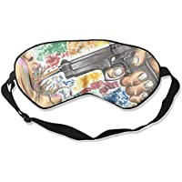 Eye Mask Eyeshade Colorful Gun Art Sleeping Mask Blindfold Eyepatch Adjustable Head Strap preisvergleich bei billige-tabletten.eu