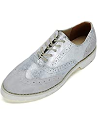 3b3199552b8d5 Ladies Lace-up Oxford Brogue Shoes - Womens PU Patent Leather Shoes