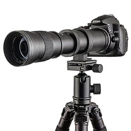 Fotga 420–800mm f/8.3–16Super Tele Lente de zoom zoom Teleobjetivo Lente Vario de objetivo Lens con T2de AF adaptador para Sony Alpha y Minolta MA Cámara, a330, a380, A500, A550A450A290A390A560A900A850A100A700A200A300A350A230A33A55A35A65A77A57A37A99A58