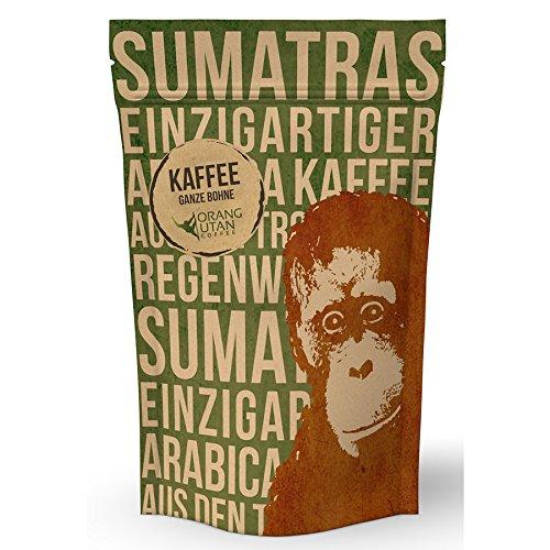 Orang-Utan Sumatra Arabica Kaffee Bohne 500 g