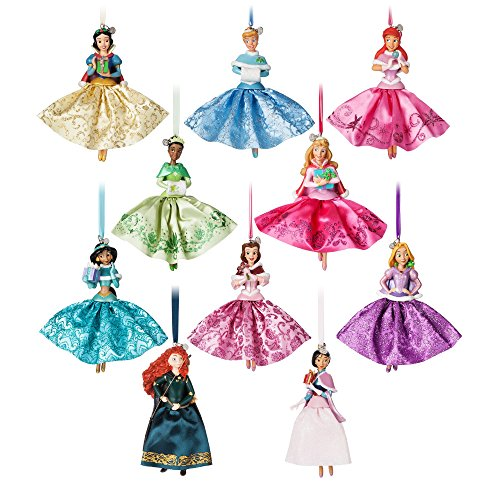 Disney Princess Einband Ornament Set - Belle Schmuck Princess Disney