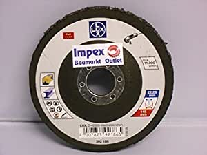 Lux OBI 392186 Disque de nettoyage grossier 115 mm pour Meuleuse d'angle