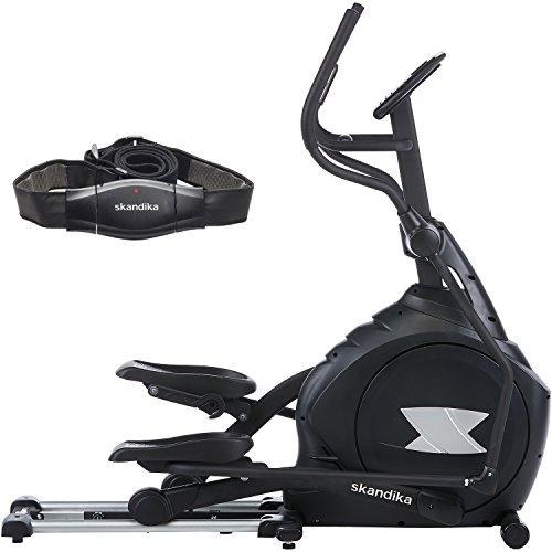 skandika Carbon Pro Ellipticals Und Crosstrainer, Black, XXL -
