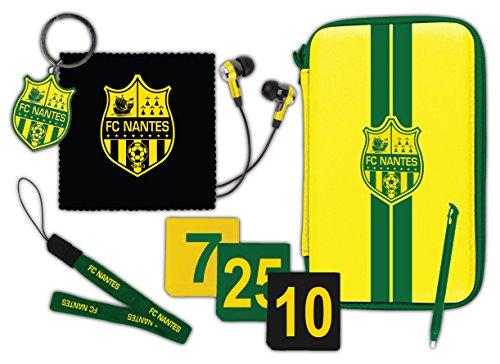 Pack d'accessoires pour New 3DS XL et 3DS XL - Licence officielle FC NANTES