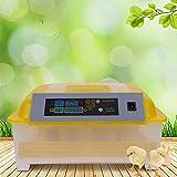 Incubadora de Huevos, 48 Huevos Capacidad Totalmente Automática Hatcher con Control de Temperatura...