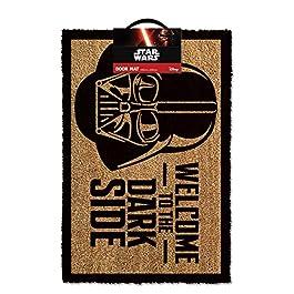 1art1 Star Wars – Dart Fener, Benvenuti nel Lato Oscuro Zerbino (60 x 40cm)
