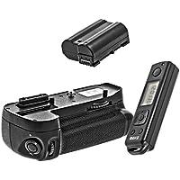 'Impugnatura Portabatteria Timer LCD per Nikon D7100+ 1x batteria supplementare come il EN-EL15