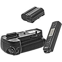 """Meike–Empuñadura de batería, con temporizador LCD para Nikon D71001x batería adicional EN-EL15como """"la función del temporizador mediante mando a distancia, doble capacidad disparador Vertical, similar a MB-D15"""