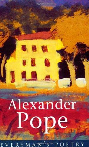 Alexander Pope Eman Poet Lib #05 (Everyman Poetry)