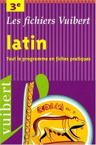 Latin, 3e par Devaux