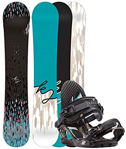 K2 First Lite 142 2017 with Charm Black,