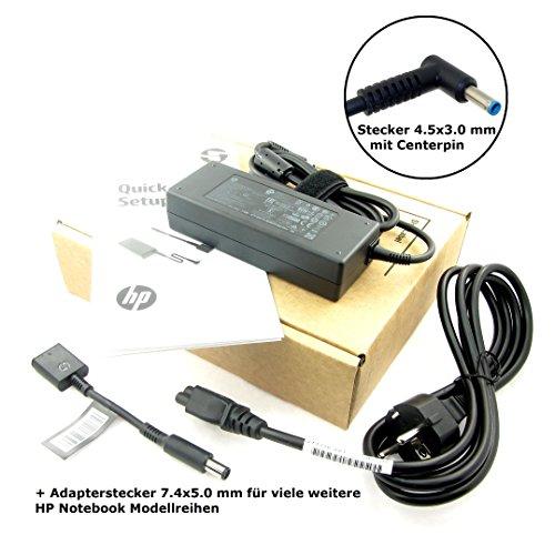 Original Netzteil für HP ADP-90WH D, PPP012D-E, 753560-003, 710413-001 mit 19.5V, 4.62A (90W) mit Stecker 4.5x3.0mm und Centerpin