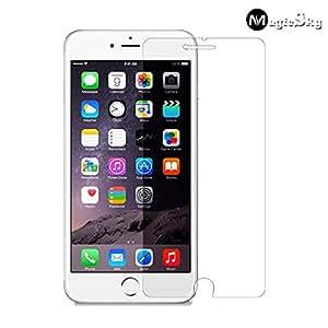 "iPhone 6 Plus / 6S Plus (5.5""Screen) Screen Protector, Tempered Glass, 0.26mm Ultra-thin Tempered Glass Screen Protector for iPhone 6 Plus / 6S Plus (5.5""Screen) with 9H Hardness/Perfect Anti-scratch/Fingerprint & Water & Oil resistant"