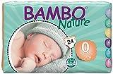 Abena Bambo Nature Prématurée Eco couches, taille 0, 24pièces