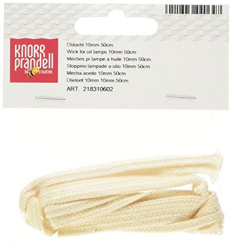 Knorr Prandell 8310602 Docht für Öllampen, 10 mm