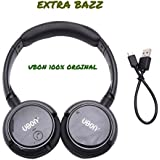 Ubon BT-5600 Wireless Original Pure Stereo Bluetooth Headphone With Mic And Card Support Wireless Headphones With Good Quality Sound - Color May Vary