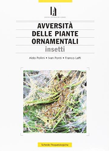 avversità delle piante ornamentali. insetti