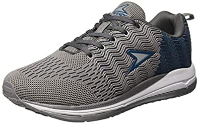 Power Men's Battlefield Grey Running Shoes-7 UK/India (41EU) (8392515)