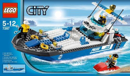 LEGO City 7287 - Motoscafo della Polizia