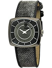 Replay RW1401DH - Reloj de mujer de cuarzo, correa de piel color negro