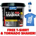 USN Muscle Fuel Anabolic Lean Muscle Gain Shake Powder from USN