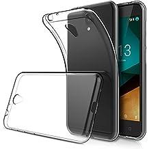 "Funda Vodafone Smart prime 7 5.0"" ( Pack of 2),Simpeak Carcasa Vodafone Smart prime 7 Silicona TPU Transparente ,Cover Vodafone Smart prime 7, Funda Smart prime 7,Carcasa Smart prime 7,Cover Smart prime 7"
