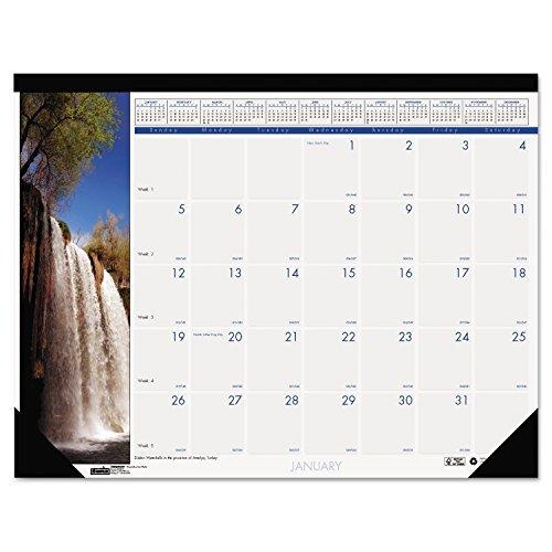 Cascate del mondo Calendario mensile scrivania, House of Doolittle