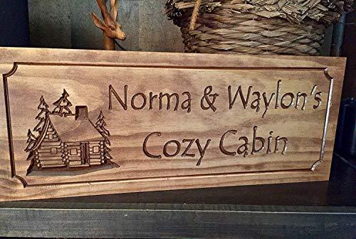 Monsety Personalisierte Camping-Schilder, Landhausschilder, Camping-Schilder, personalisierbar, lustiges Schild aus Holz mit Sprüchen