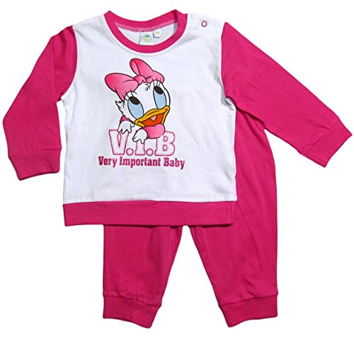 Daisy Duck V. I. B. Very Important Baby Schlafanzug 74 80 86 92 98 Kollektion 2017 Disney Neu Fuchsia (Fuchsia, 92-98; Prime)