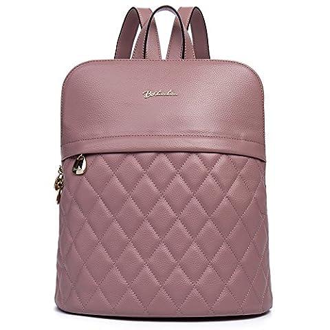BOSTANTEN Sac à dos femme cuir sac à dos randonnée sac a dos fille cuir sac de voyage