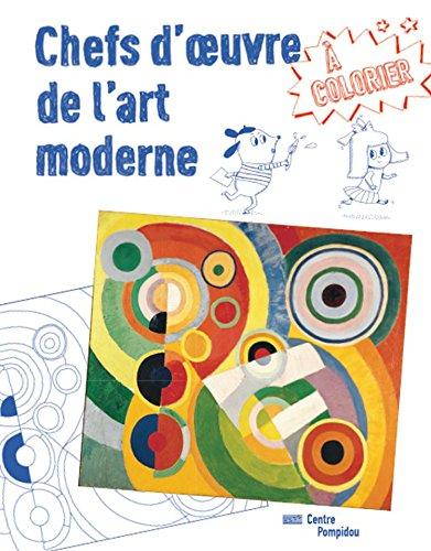 Chefs d'oeuvre de l'art moderne à colorier par Delphine Badreddine