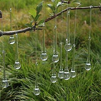 DAHI-Christbaumschmuck-eiszapfen-eistropfen-Anhnger-aus-Glas-zum-Hngen-Weihnachten-Dekoration