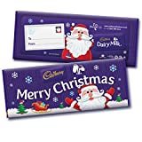 Cadbury Dairy Milk Merry Christmas 850g Large Bar