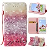 Funda para iPhone 5/5S/SE de piel,Rosa Schleife Carcasas - Best Reviews Guide